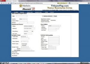 TitleandTag.com Hawaii Vehicle Registration Website